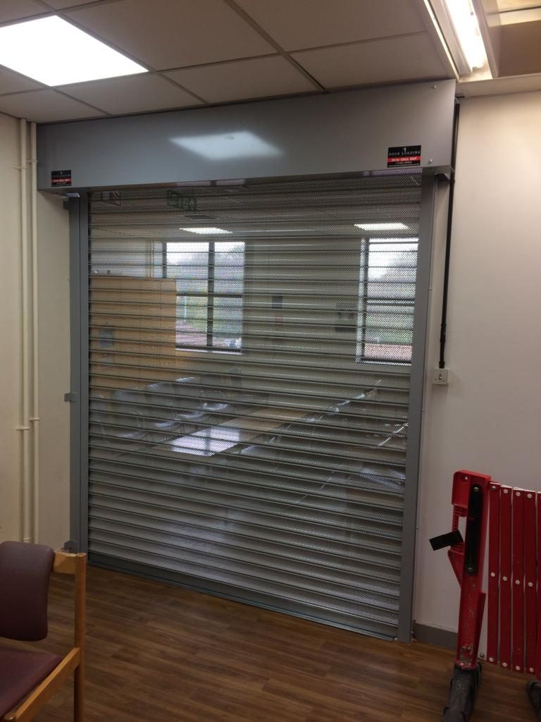 The Donated Roller Door for the new Doctor's Mess
